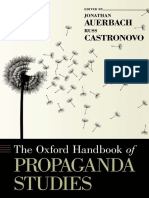 The Oxford Handbook of Propaganda Studies