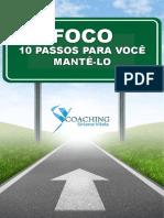 eBook Foco 10 Passos Para Voce Mante Lo