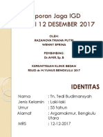 Lapjag 12 Desember 2017