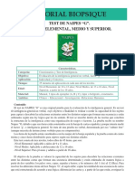 ATI 13 Test de Naipes G Niveles Elementales Medio y Superior