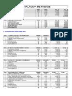Estudio Precios Unitarios Torreones