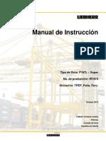 IR1874 Operators Manual Sp