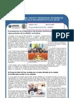Proyecto BOL/J39 EL ALTO - UNODC Boletín Nº 3