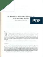6; La didáctica, el constructivismo y su aplicación en el aula (1)