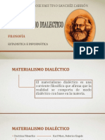 Materialism o Dialectic o