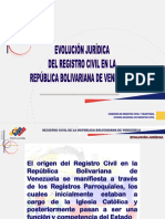 Registro Civil en Venezuela