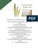 10 Soluciones Que El Tea Blossom Hace en Nuestro Cuerpo
