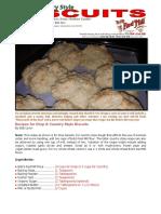 Bob Levin's Biscuit Recipe!
