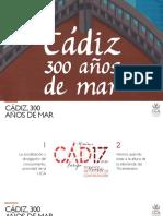 Programa Cádiz 300 Años de Mar
