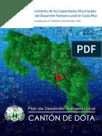 Plan de Desarrollo Humano Local Cantón Dota