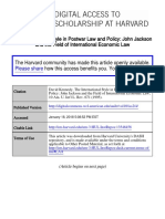 The International Style in Postwar Law and Policy_ John Jackson A