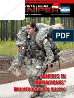 """Sniper 41 - """"Mujeres en Operaciones"""""""