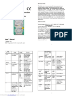 Mt2017 User Manual