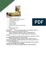 10 Recetas de Ensaladas