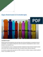 Água Solarizada & Cromoterapia