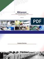 Dixon Corporate Presentation Oct 17