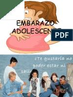 embarazo adolecente