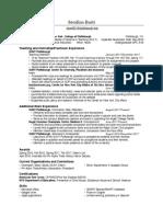 Resume Updated 1-2018 PDF