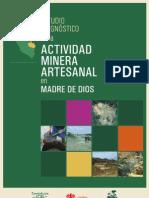 Estudio Integral Minería Artesanal en Madre de Dios, Perú_Libro