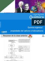 Clase 19 Química Orgánica I Propiedades Del Carbono e Hidrocarburos 2016