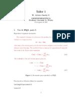 Geoinformática Taller 1