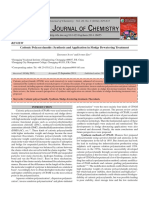 Cationic Polyacrylamide Synthesis and Application in Sludge Dewatering Treatment