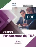 TEMARIO Curso Fundamentos ITIL