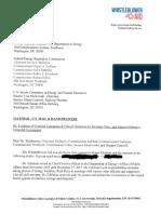 Whistleblower Complaint Against Energy Secretary Rick Perry