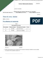 Instalacion Tensor de Correa
