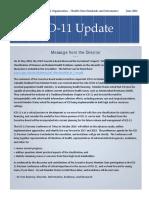 2016 06 20 ICD11JuneNewsletter