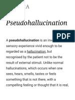Pseudo Hallucination