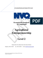 Agricultural Entrepreneurship Level 2 [29]