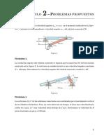 Problemas - Analisis Cinematico de Mecanismos Planos
