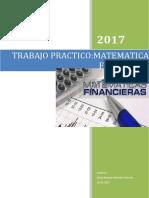 Trabajo de Matematica Financiera