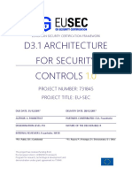 D3.1-Architecture for Security Controls
