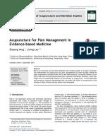 Acupuncture & Pain