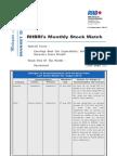 RHBRI's Monthly Stock Watch