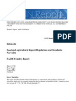 Food and Agricultural Import Regulations and Standards NarrativeJakartaIndonesia12302016