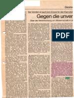Bayer O., Gegen die unvernünftige Vernunft, 1989