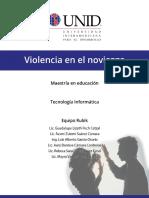 Trabajo de Violencia en El Noviazgo