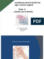 Conocimientos básicos para la tinción de citología cervico‐vaginal  II