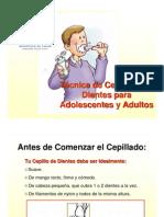 Tecnica de Cepillado Para Adolescentes y Adultos 01