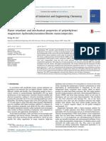 Flame Retardant and Mechanical Properties of Polyethylene