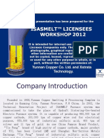 YCC ISASMELT™ Workshop Presentation