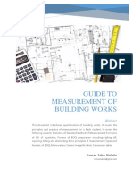 Guide to Meas. of Bldg. Wrks.