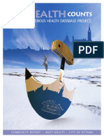 Our Health Counts—Urban Indigenous Health Database Project Inuit Adults July 2017