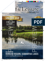 2018 Golf & Leisure Savings Book