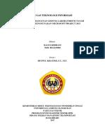 Cover tugas  teknologi informasi