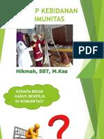 KONSEP DASAR KEBIDANAN KOMUNITAS.pptx
