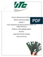Electronica Digital Avance de Trabajo Unidad 4 y 5